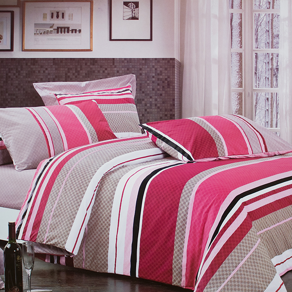 Blancho Bedding - [first Love] 100% Cotton 4pc Comforter Cover/duvet Cover Combo (queen Size)