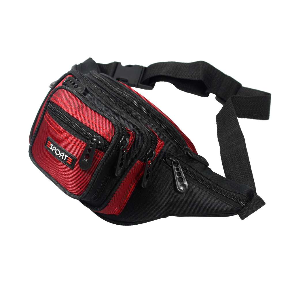 [campus Life] Multi-purposes Sports Fanny Waist Pack / Back Pack / Travel Lumbar Pack