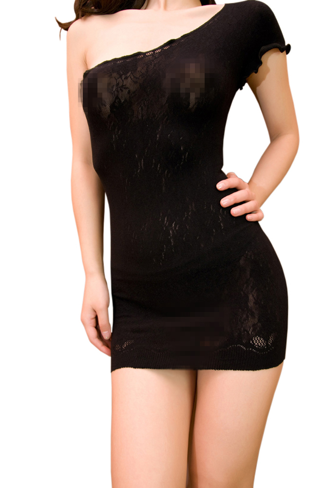Blancho SE-215 Sexy Black Lace Lingerie Set at Sears.com