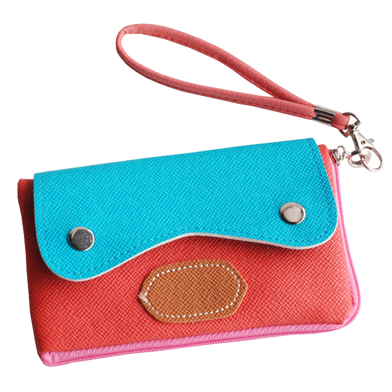Blancho Bedding [Sun and Sky] Colorful Leatherette Mobile Phone Pouch Cell Phone Case Clutch Pouch at Sears.com