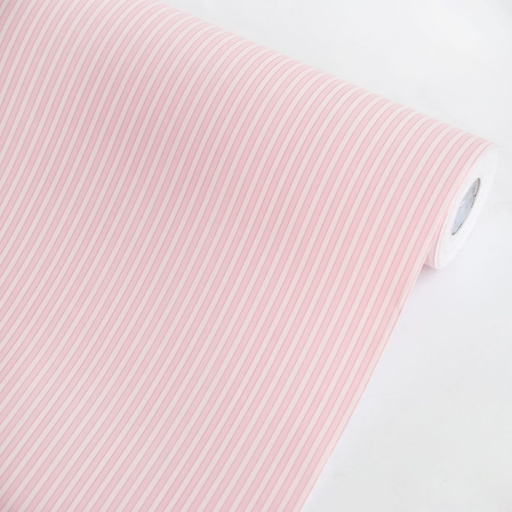 Pink Stripe - Self-Adhesive Wallpaper Home Decor(Roll)