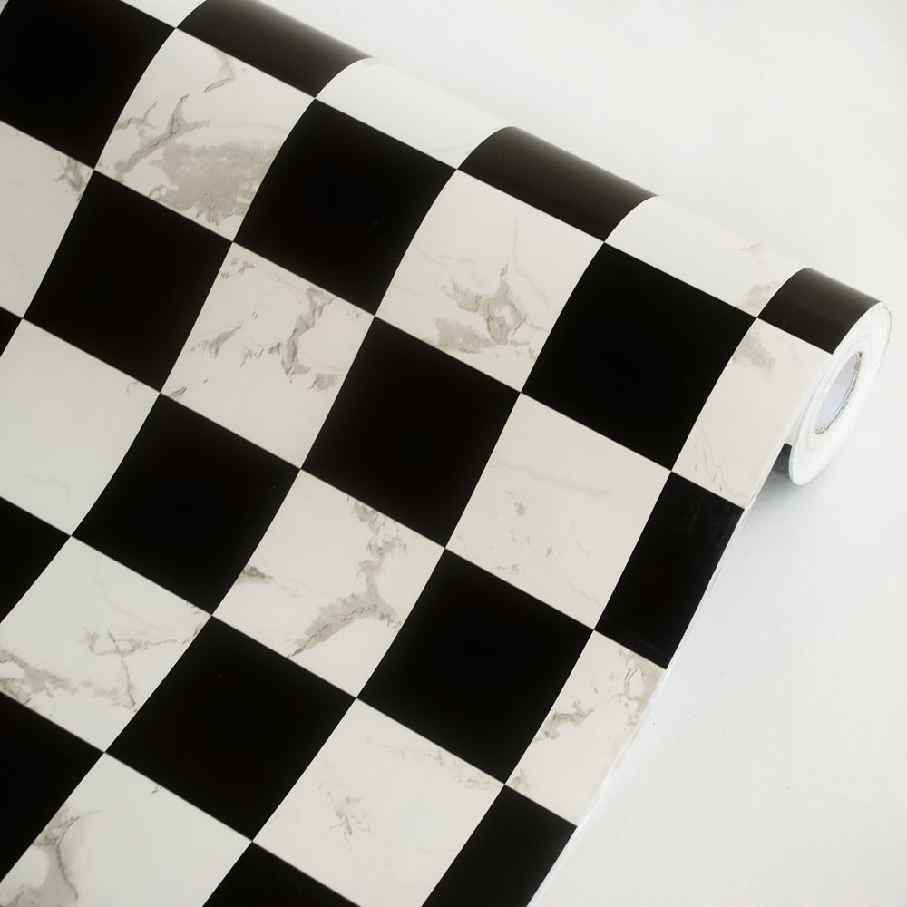 Black & White - Self-Adhesive Wallpaper Home Decor(Roll)