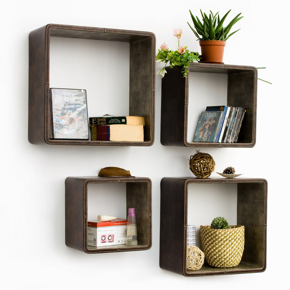 Floating Box Shelves for Wall