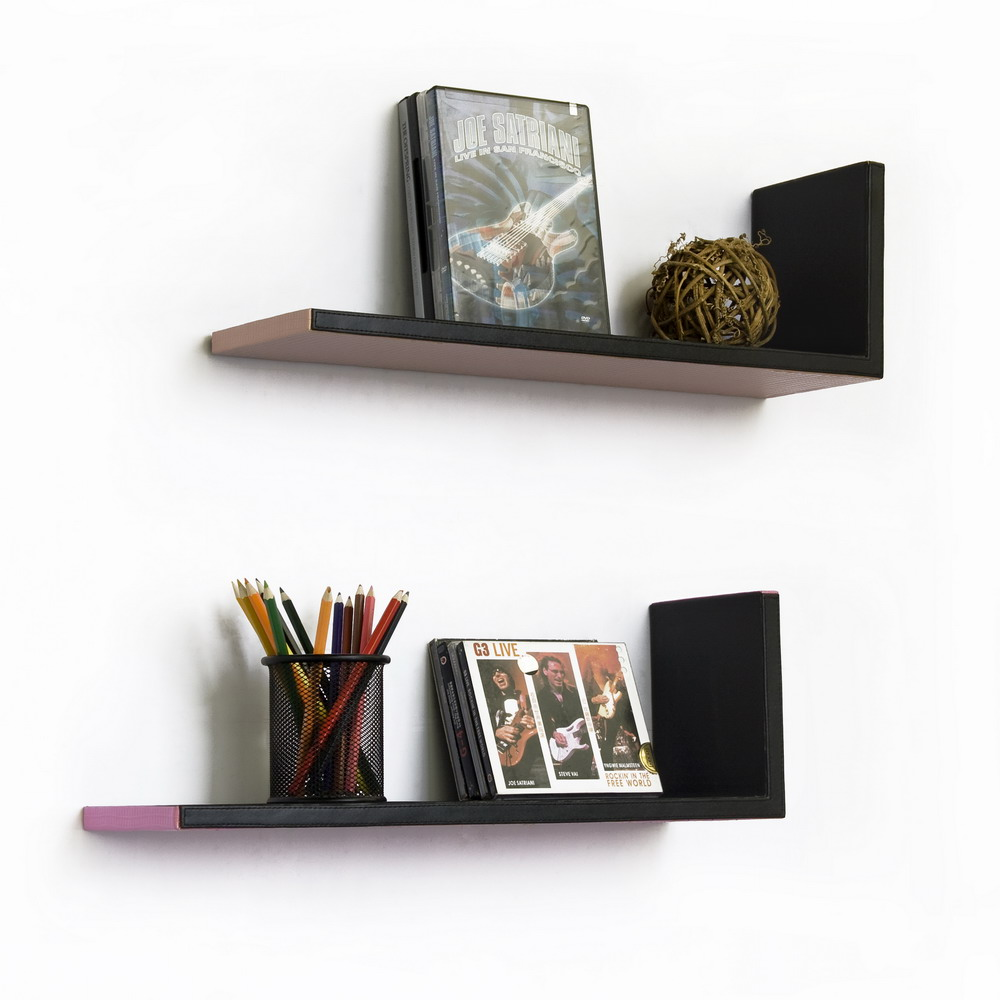 L-shaped Wall Shelf