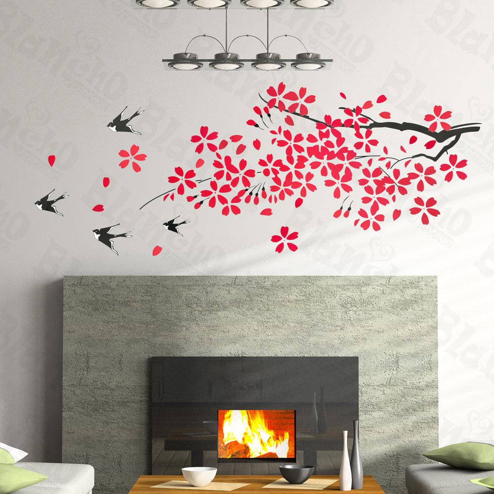 Blowing Dandelion Wall Decal | Houzz
